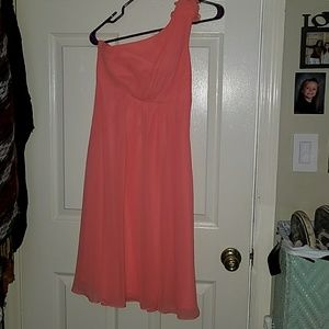 Size 2 David's bridal dress Coral Reef